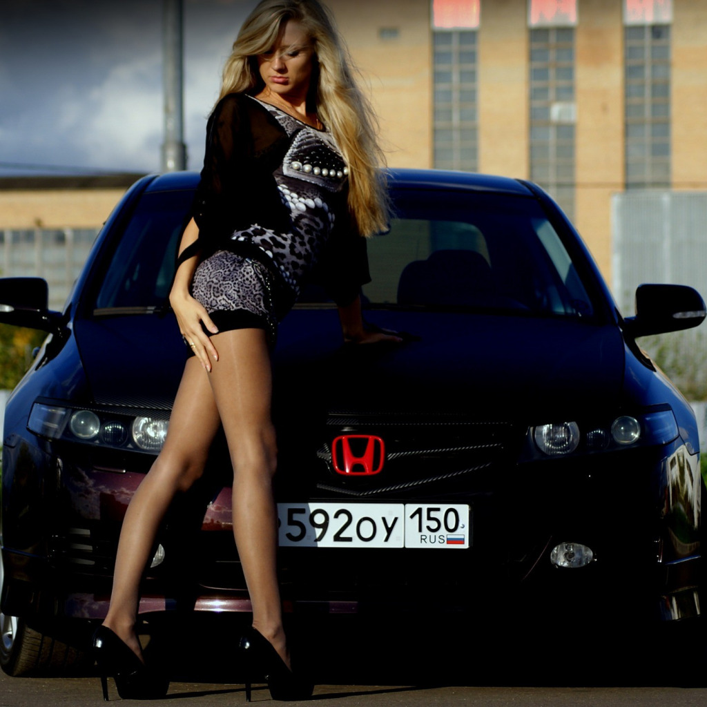 Машина для девушки фото хонда