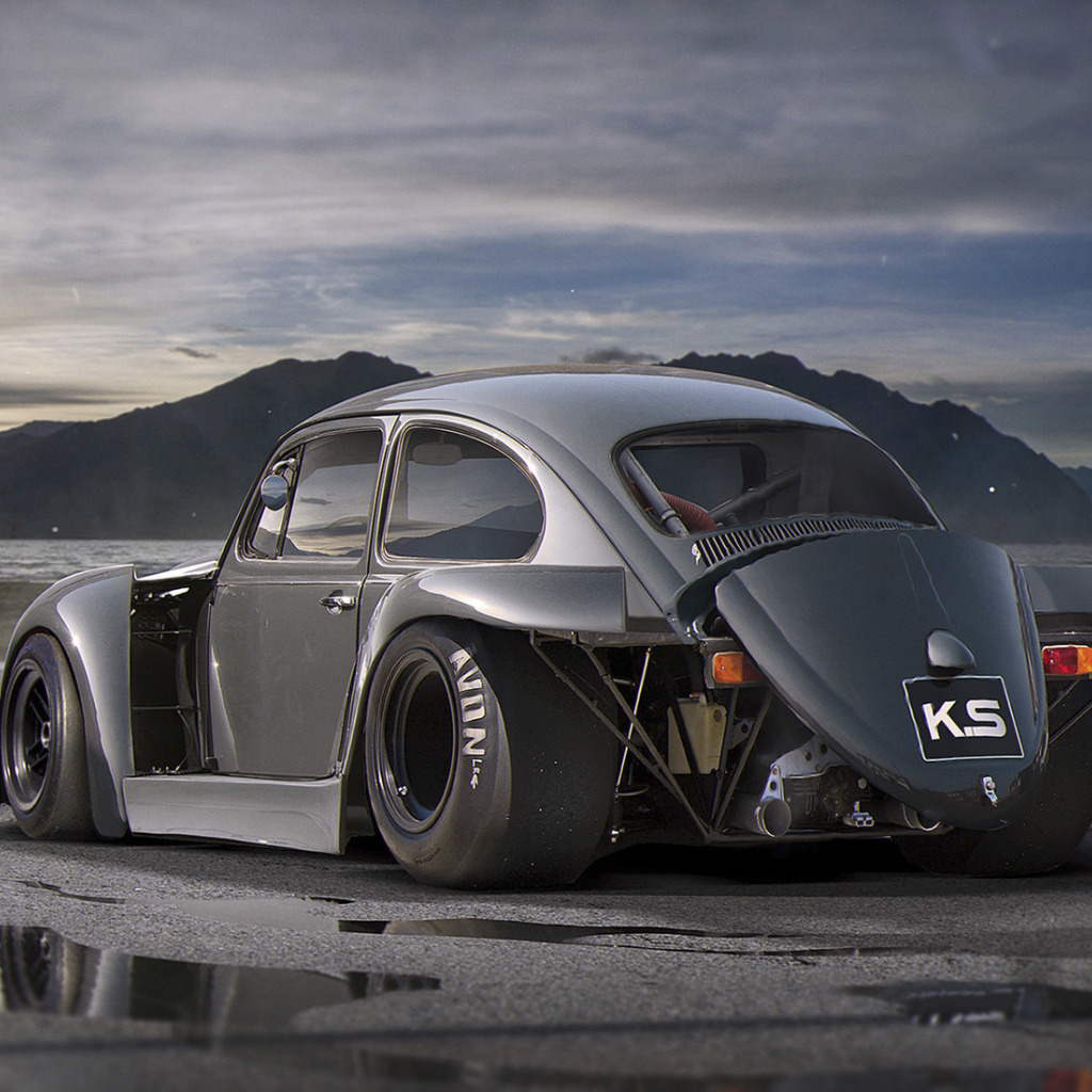 Vw Bug Drag Motor: Скачать обои Volkswagen, Car, Old, Beetle, Tuning, Future