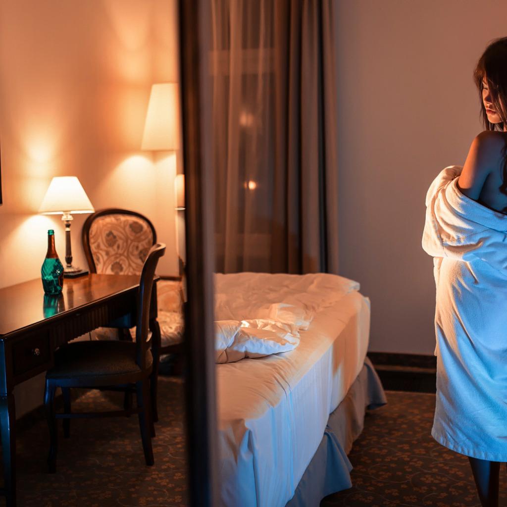 Фото девушек из номеров отелей