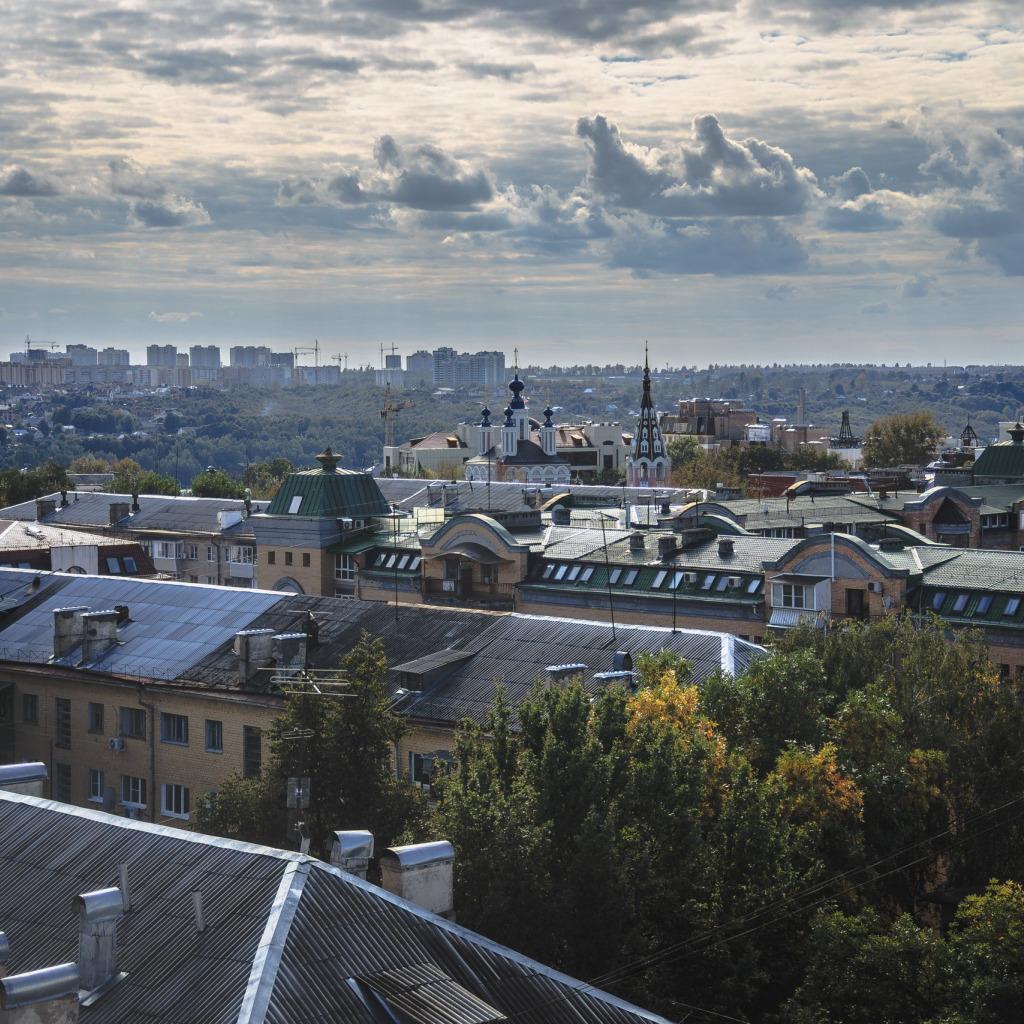 Обои крыши, россия, russia, Облака, kaluga. Города foto 15