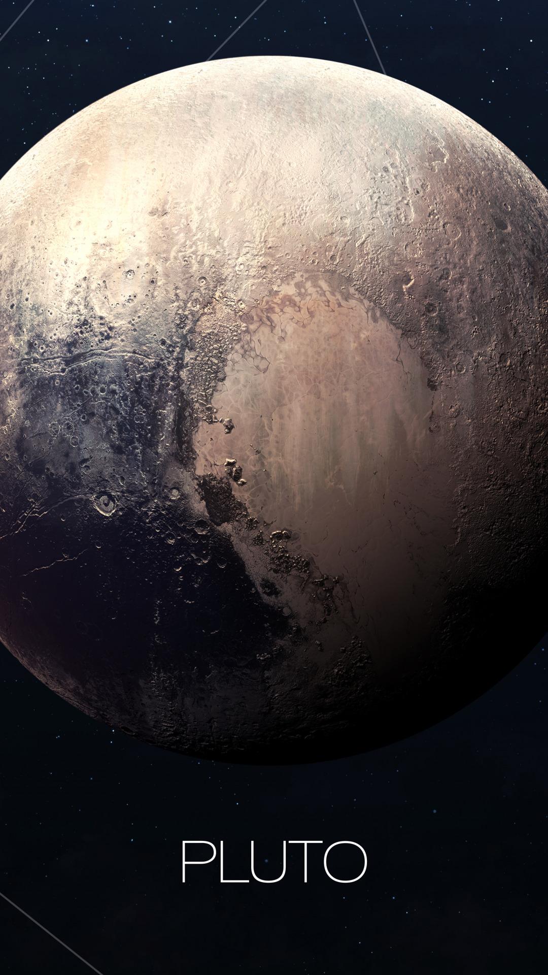 pluto planet cartoon - HD1080×1920