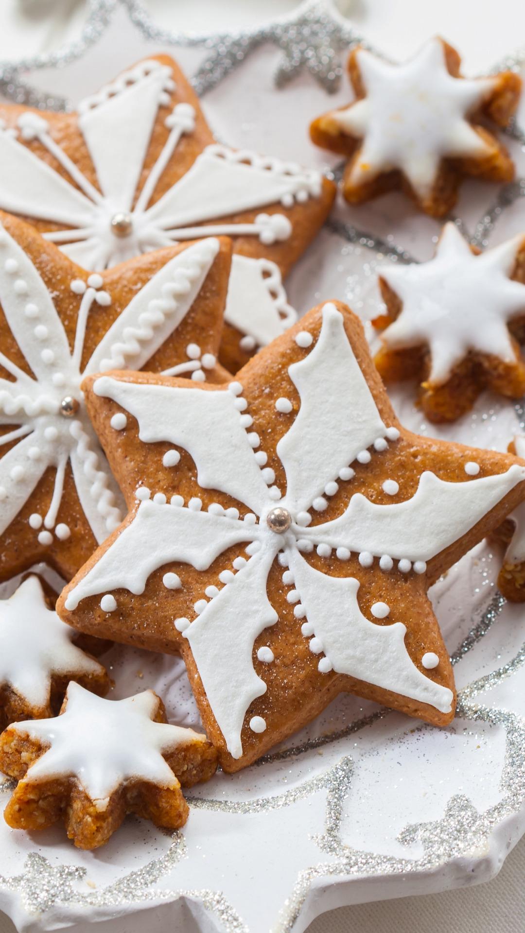 печенье звезды тарелка  № 2926862  скачать