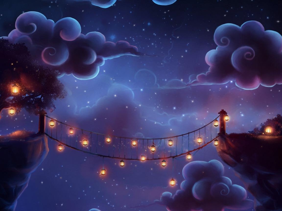 Нереально красивая картинка о спокойной ночи