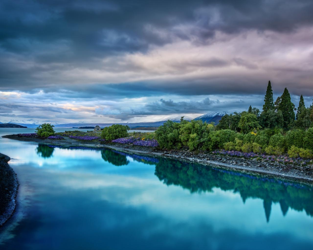 природа река деревь облака Индонезия  № 1670680 бесплатно