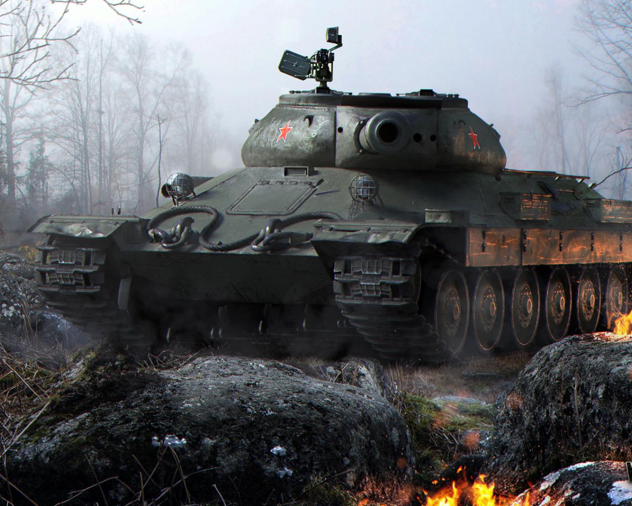 Обои с танками на рабочий стол world of tanks