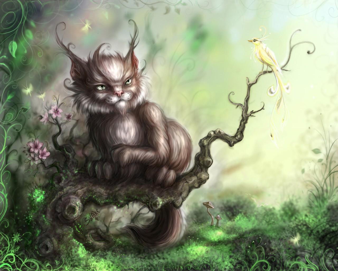 Картинки мистические существа мыши