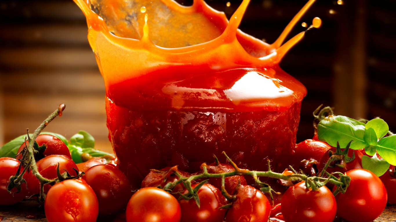 еда помидоры сок томатный ложка  № 2891517  скачать