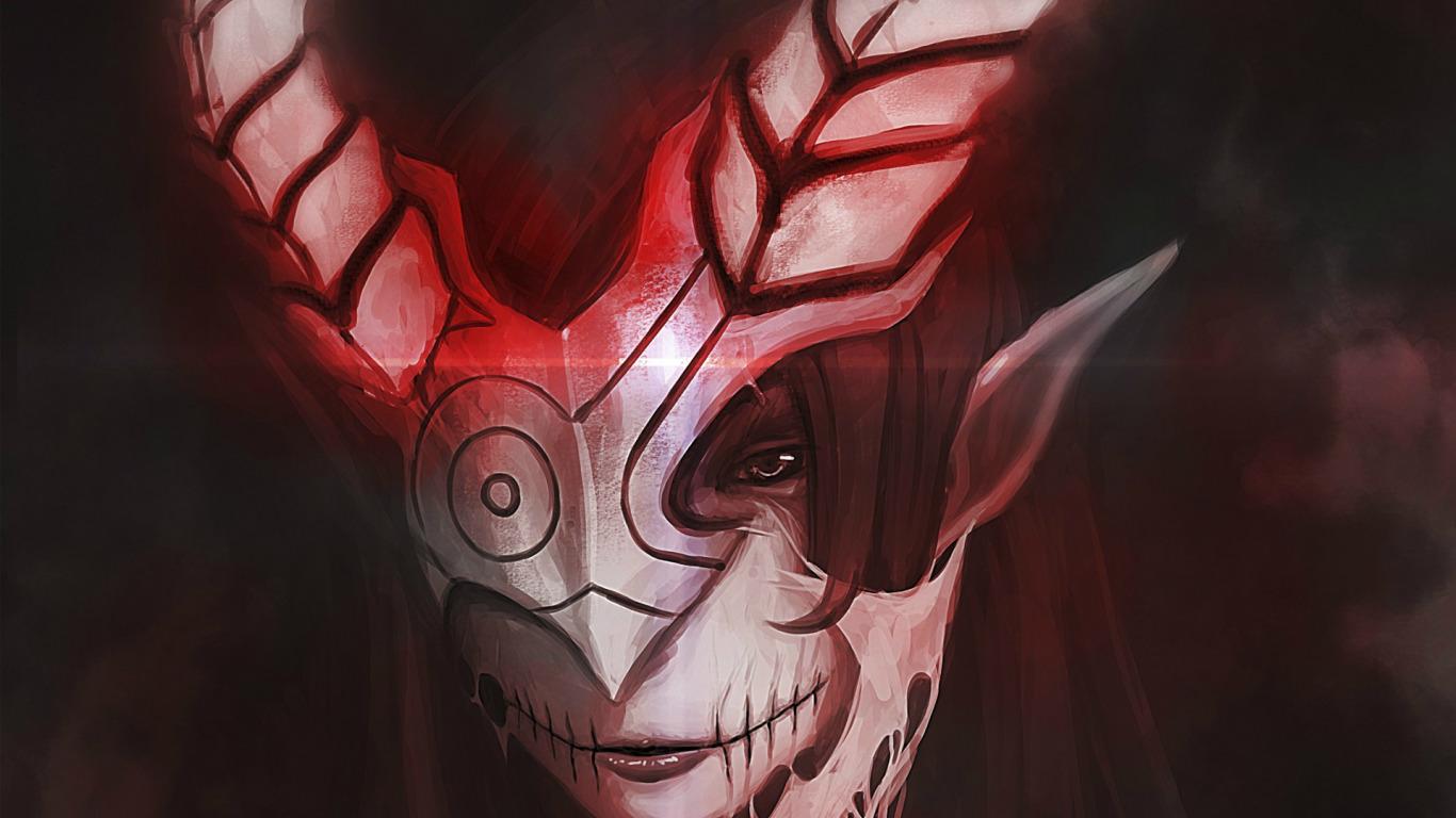 Картинки масок и демонов