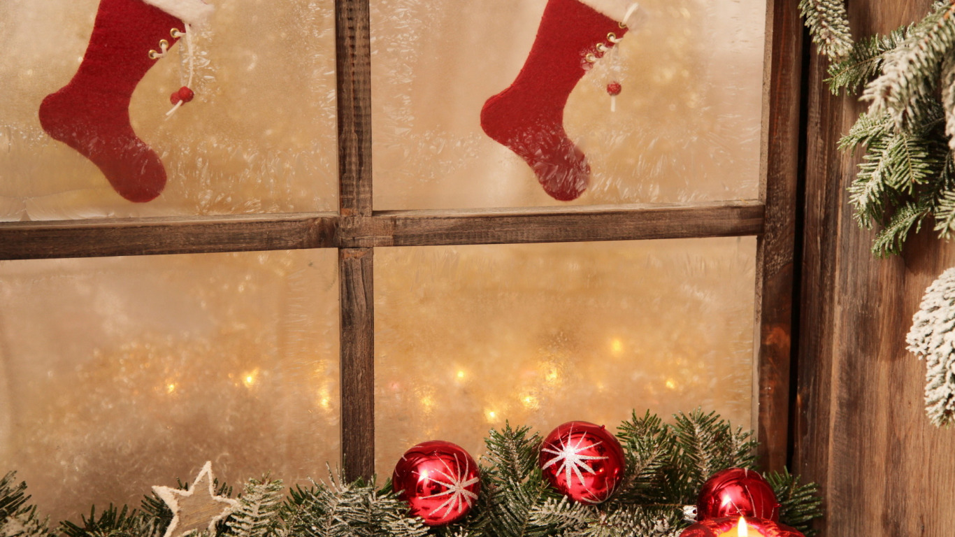 Сапоги новый год окно Boots new year window  № 2639431 бесплатно