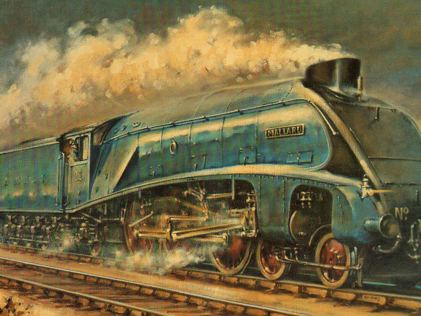 Днем, поезд картинки красивые нарисованные