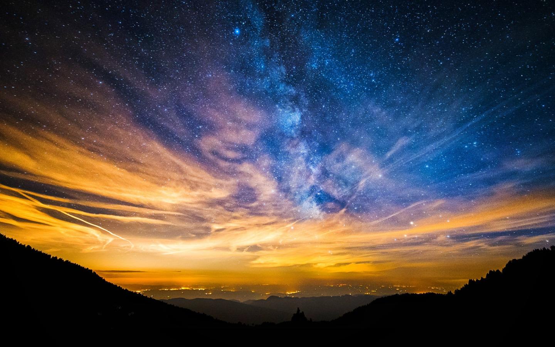 Красивые картинки неба космоса