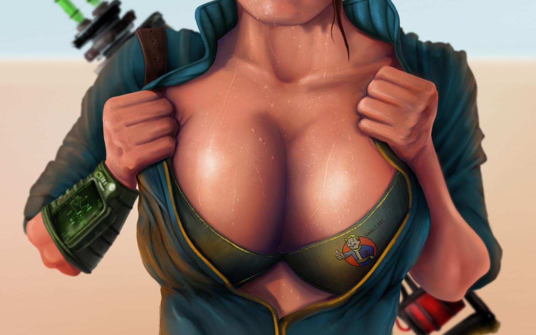Fallout new vegas huge boobs gif erotic clip
