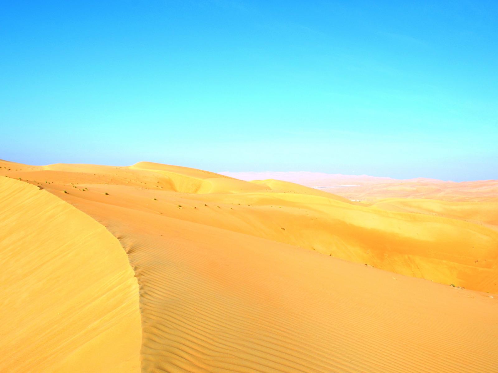 пустыня и небо фотобанк сетевые
