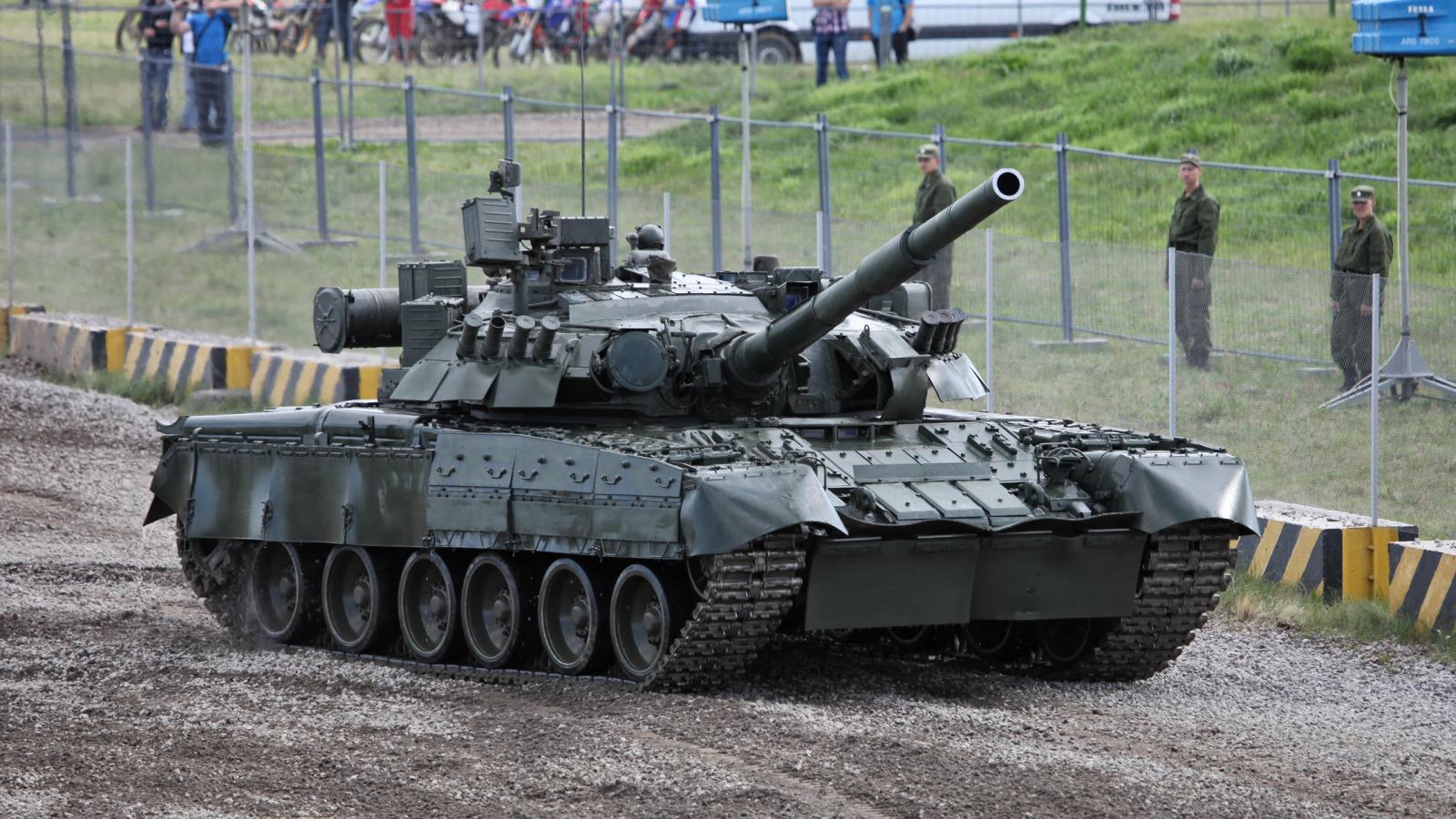 Танки России. Т-80