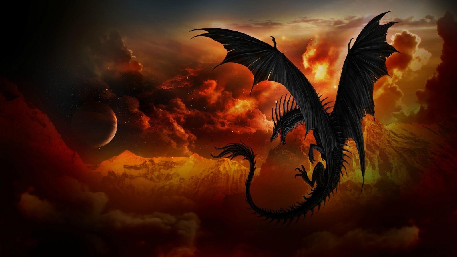 Картинки с драконом на рабочий стол