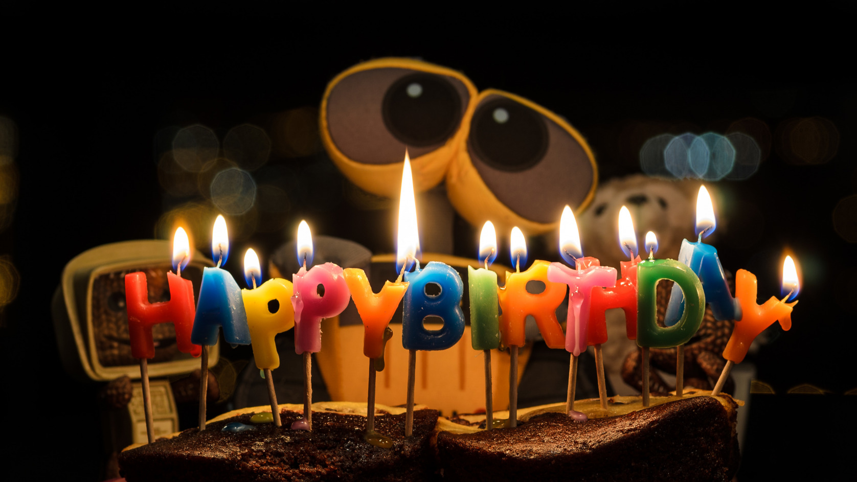 Счастливое поздравление дня рождения