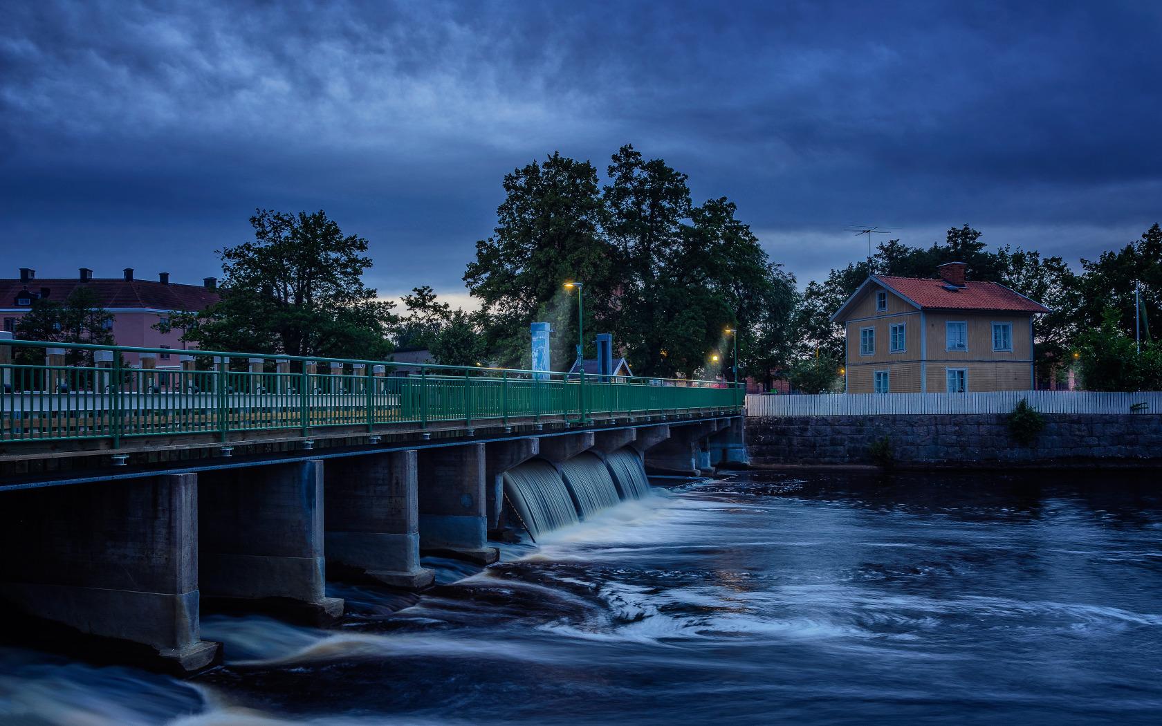 Мост река сумерки  № 3030595 без смс