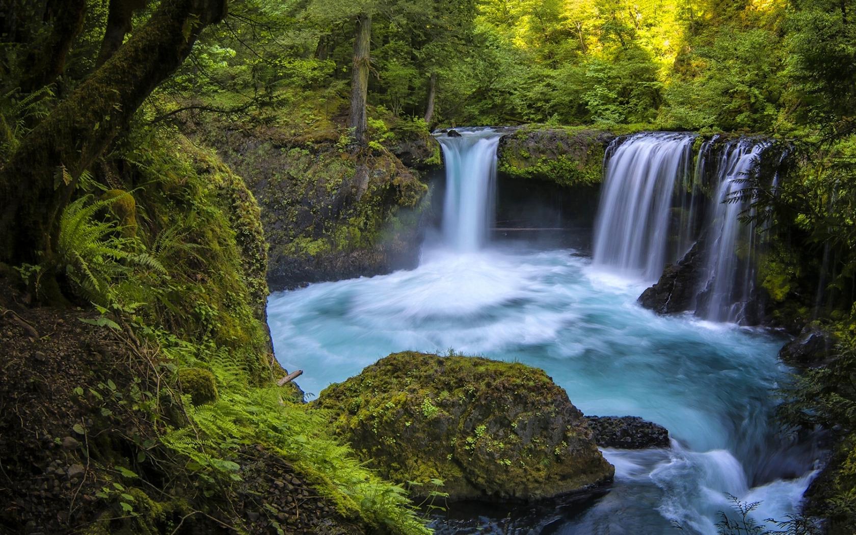 Водопад река  № 740899  скачать