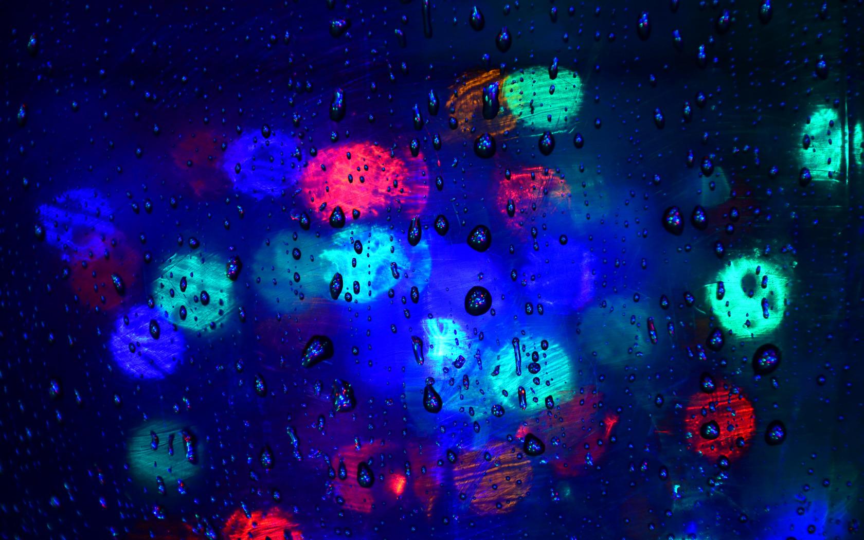 Обои блик, свет, Вода, стекло, Цвет, капли. Разное foto 7