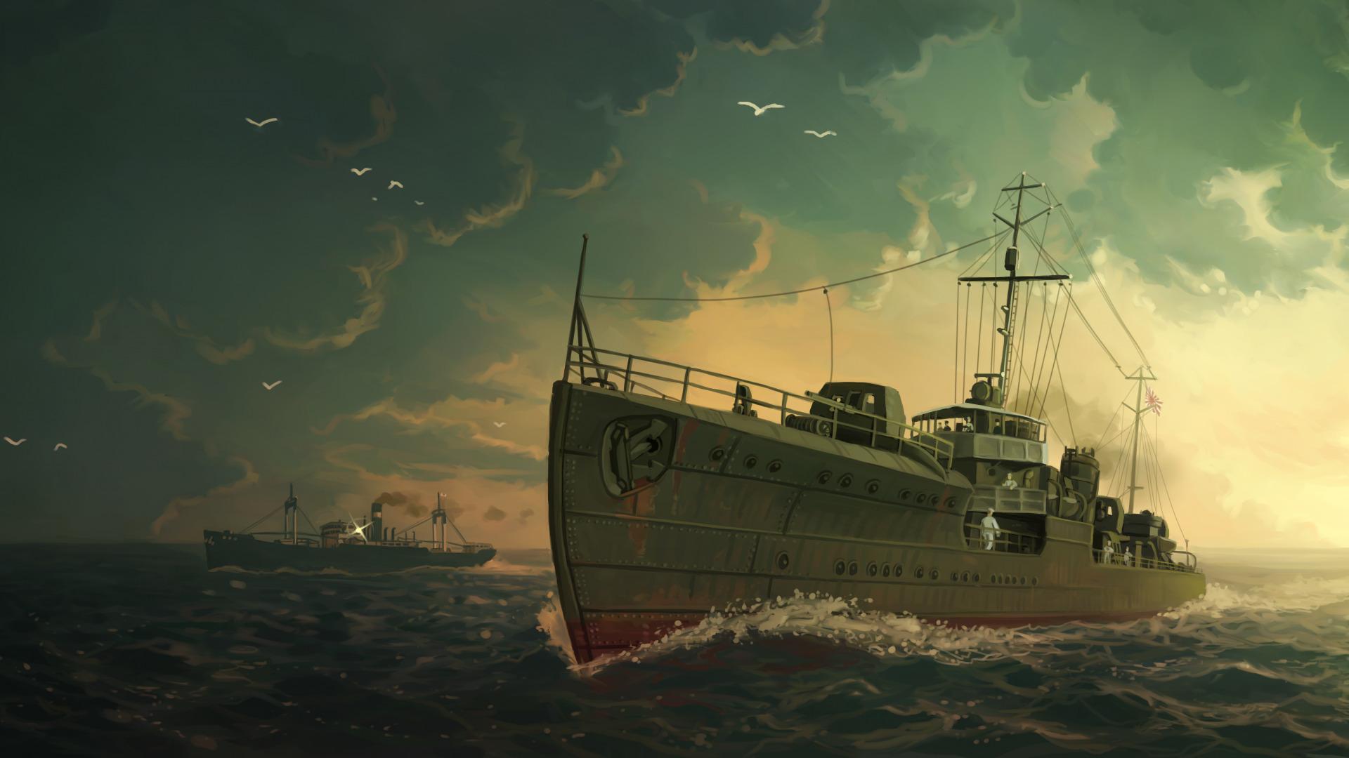 обои пиратские корабли для рабочего стола скачать бесплатно