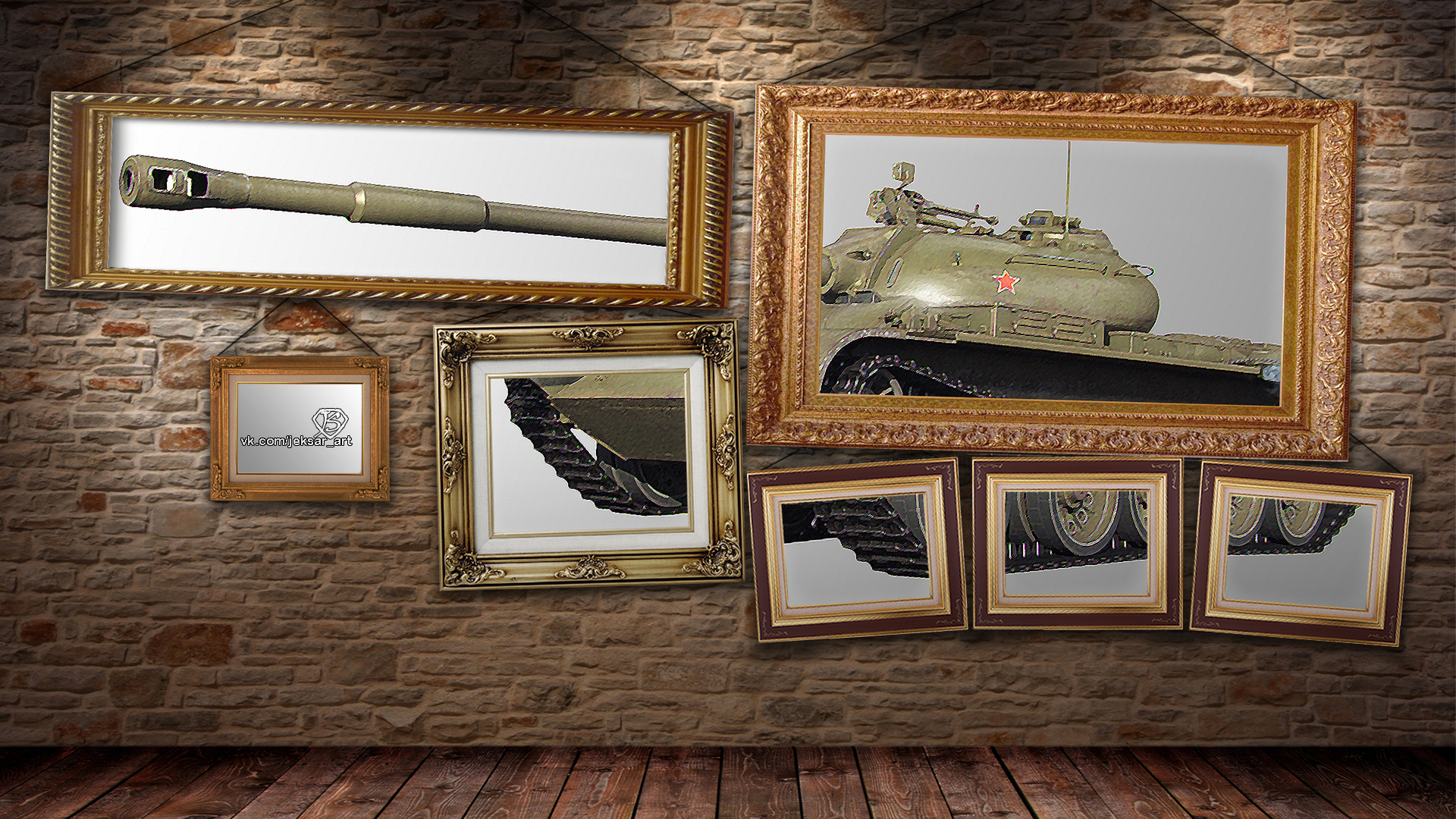 правильно постер на стену танки пока дошли дома
