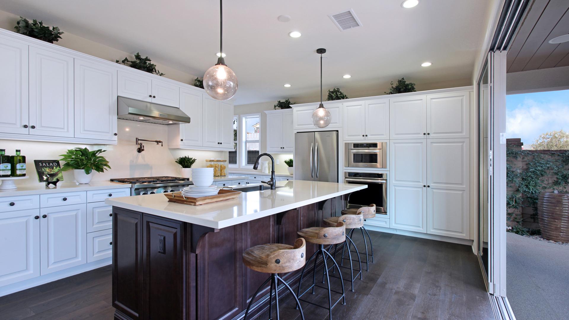Дизайн стол для кухни фото