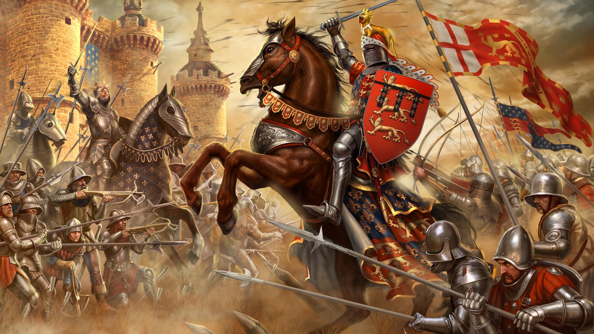 Картинки сражения с рыцарями