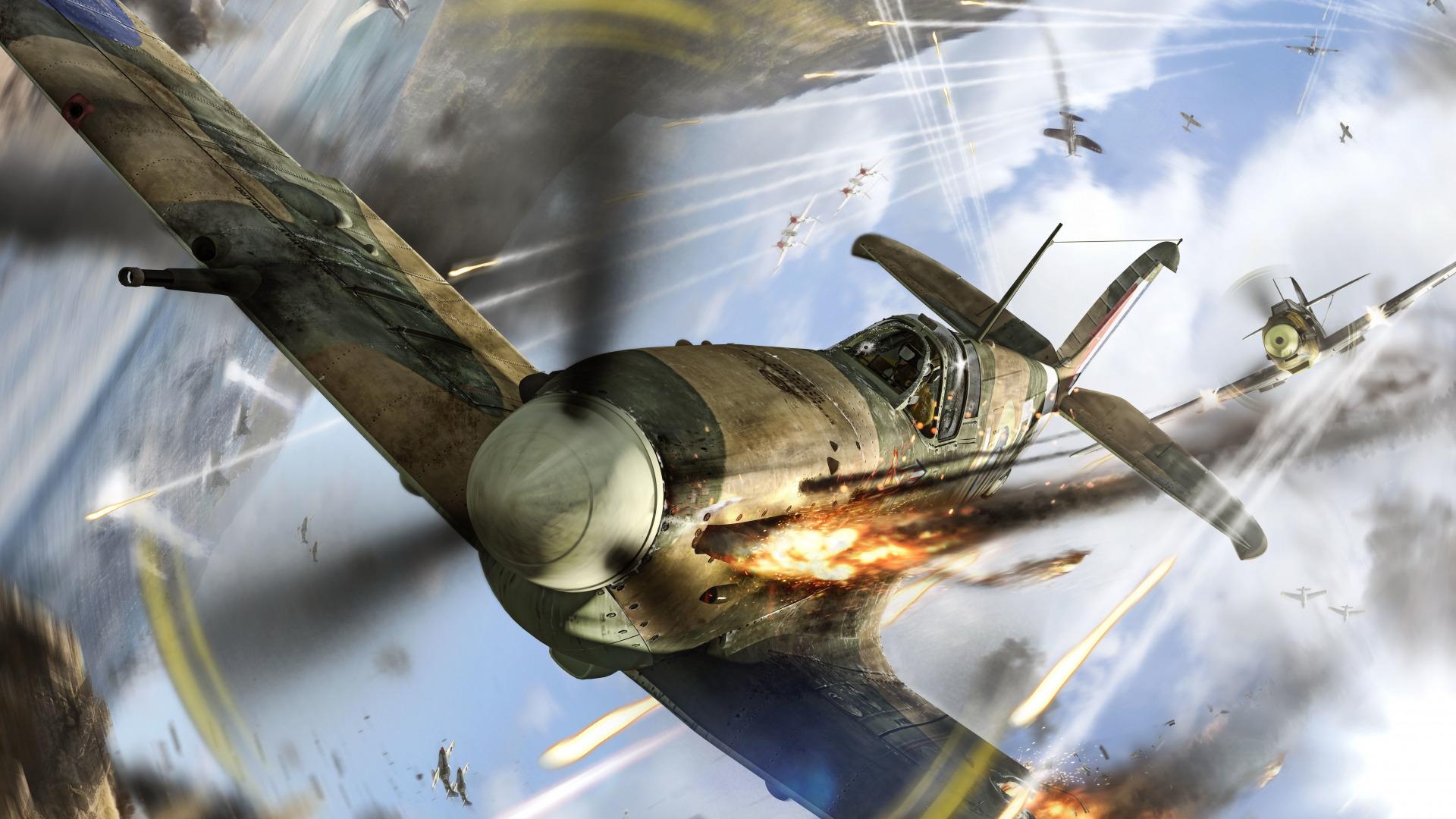 Воздушный бой  № 2373013  скачать