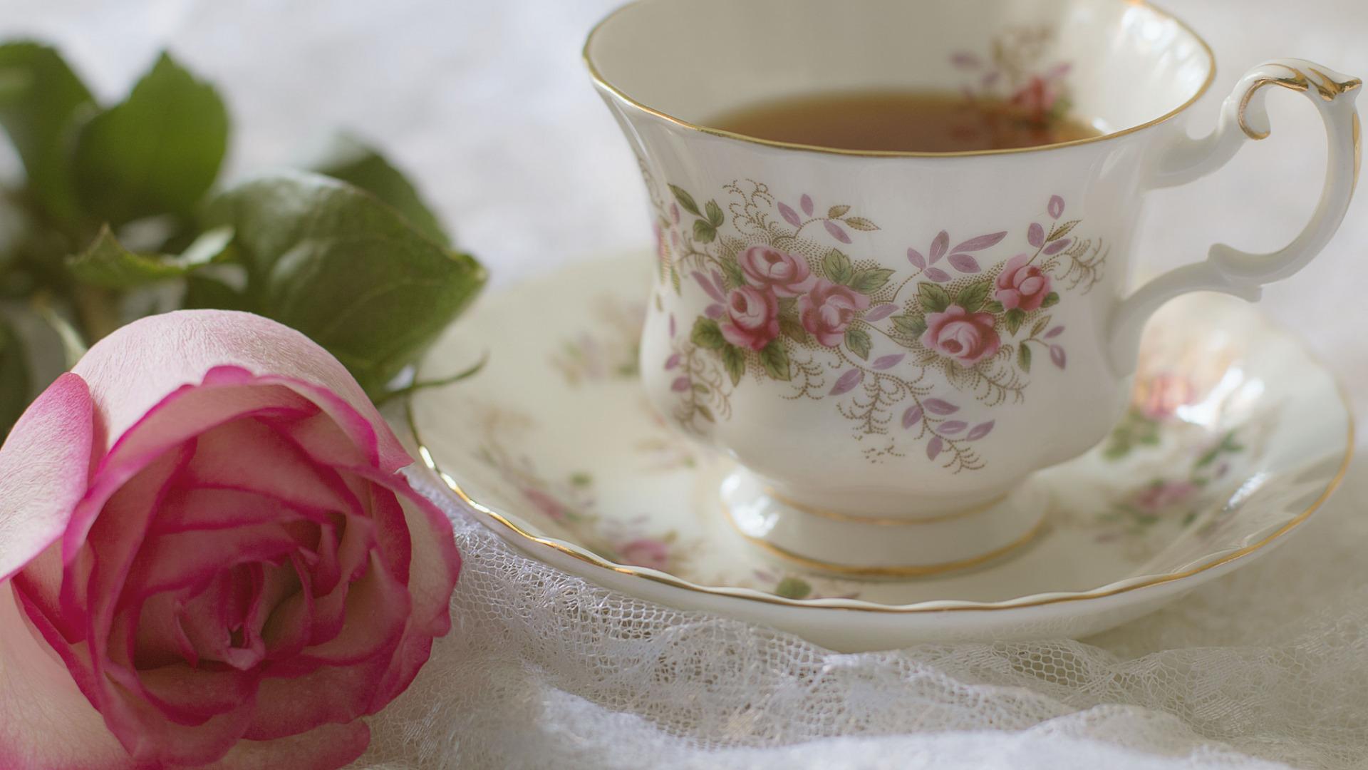 Картинки чашка с цветами, 60-летний юбилей