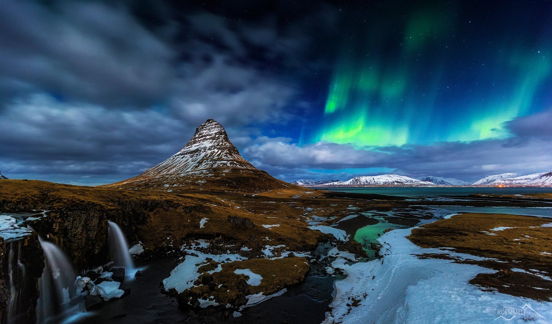 обои на рабочий исландия счета