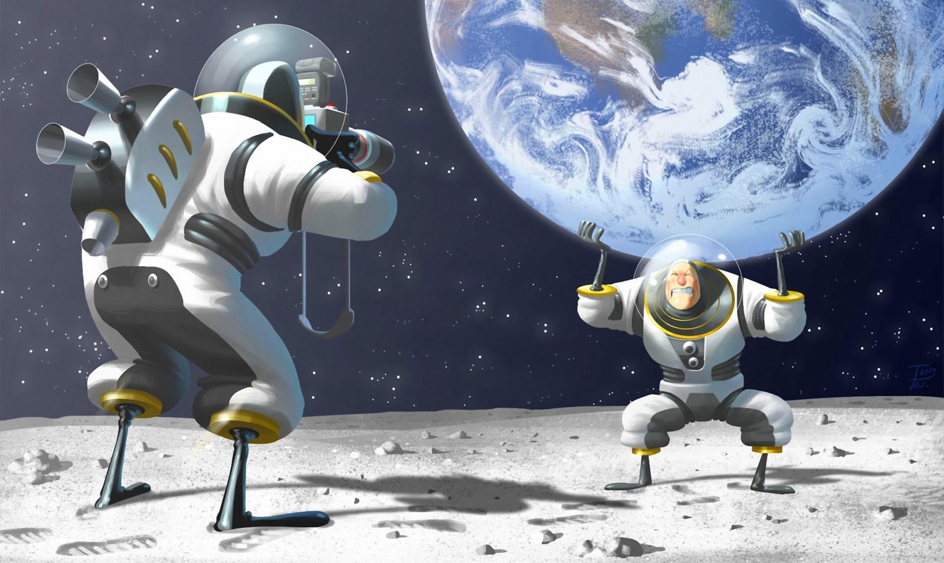 смешные картинки про полеты в космос прохождения бухты