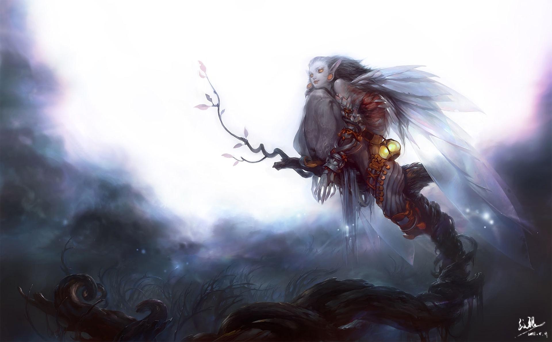 небесные фонари рыцарь меч луна  № 3714380 загрузить