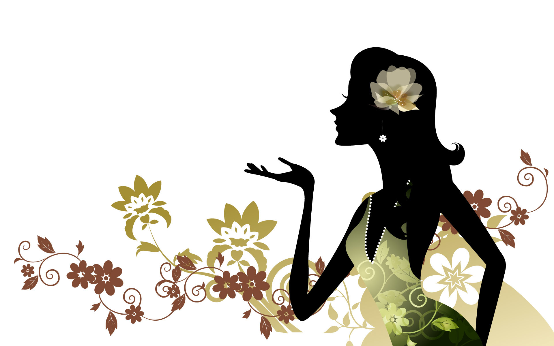 Вектор открытка для женщины, картинки про
