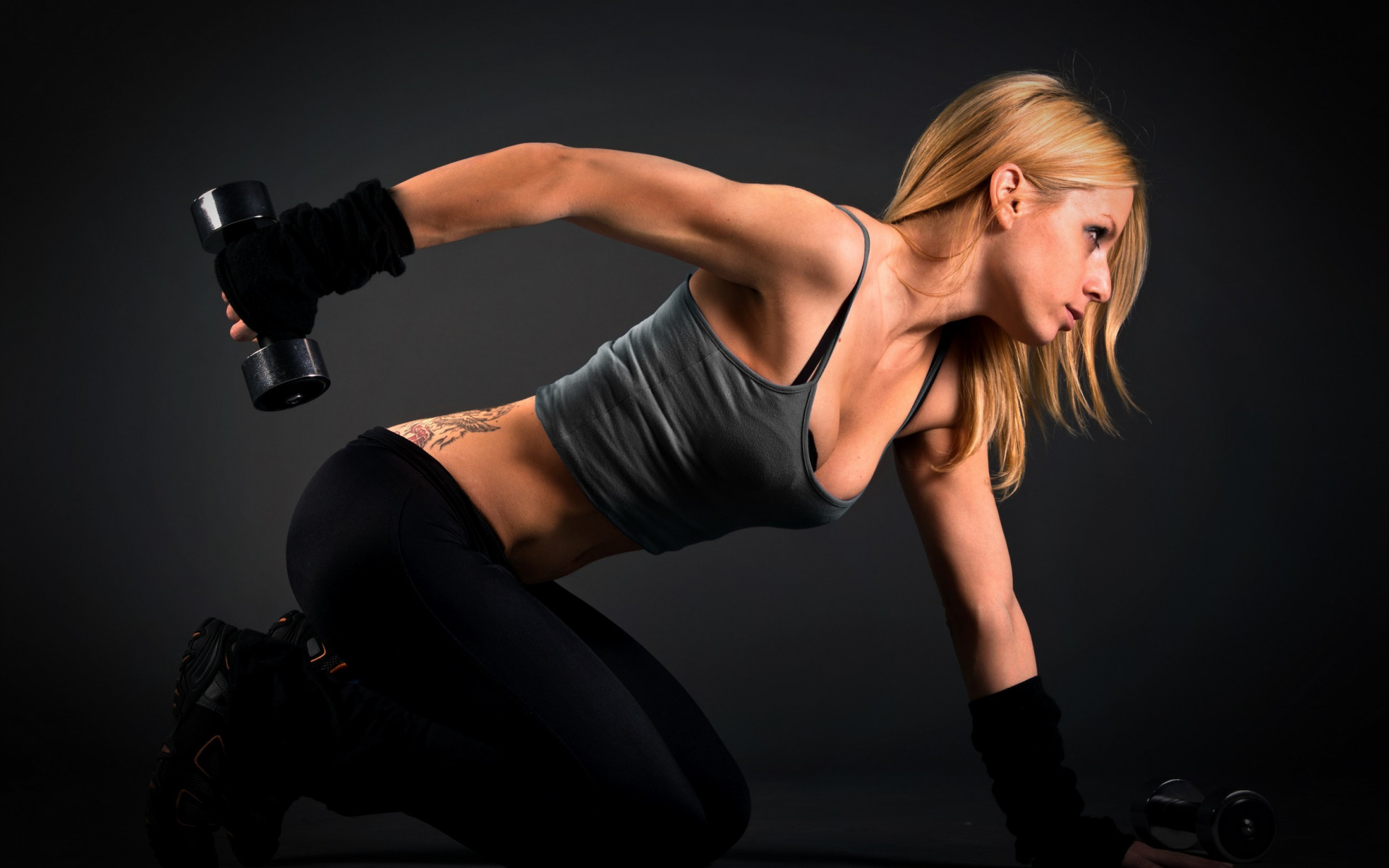 Workout sexy girl