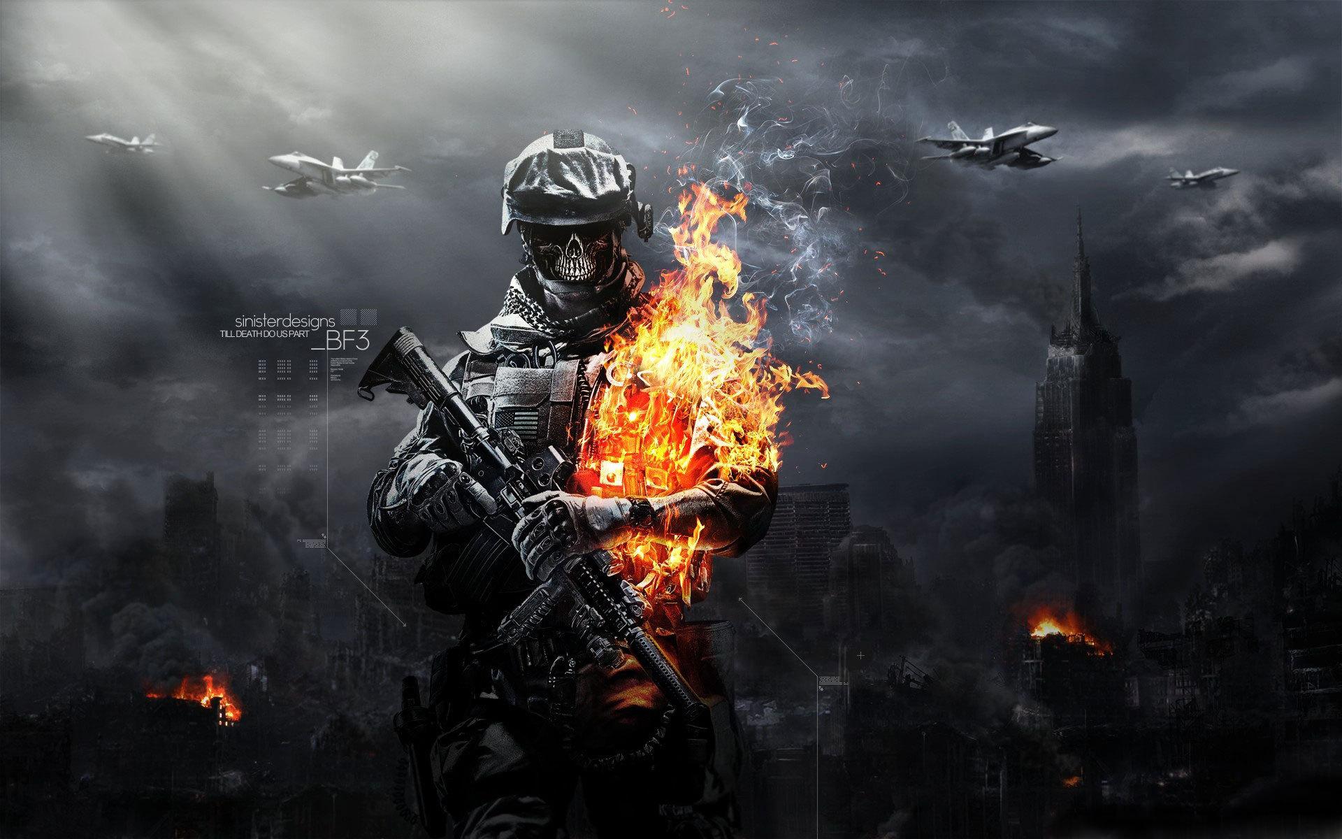 Battlefield 3 солдат линии оружие  № 3460647  скачать