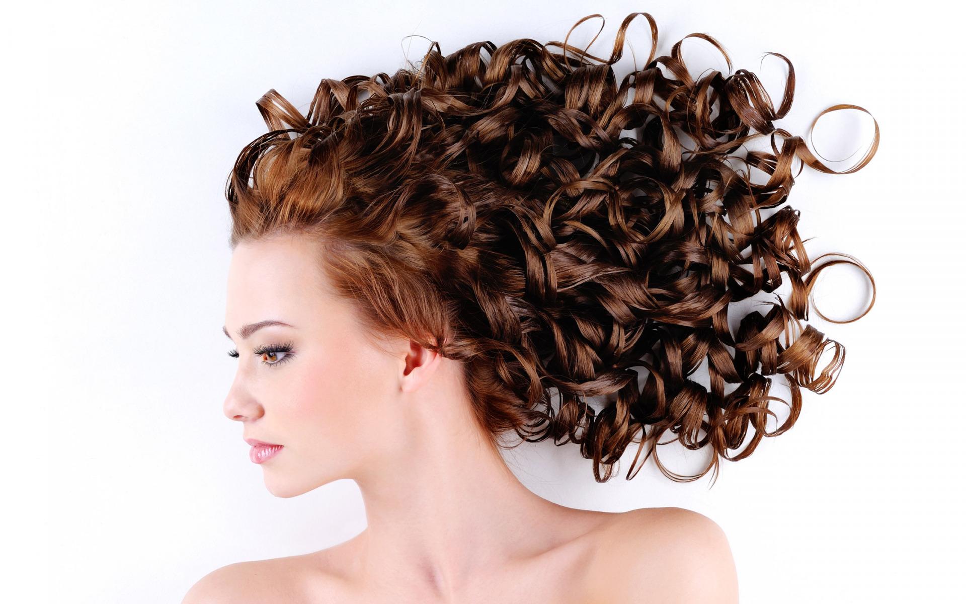Эффект мокрых волос на короткие 75