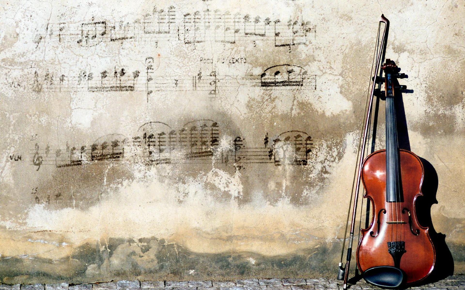 Девушка со скрипкой абстракция  № 2052280 загрузить