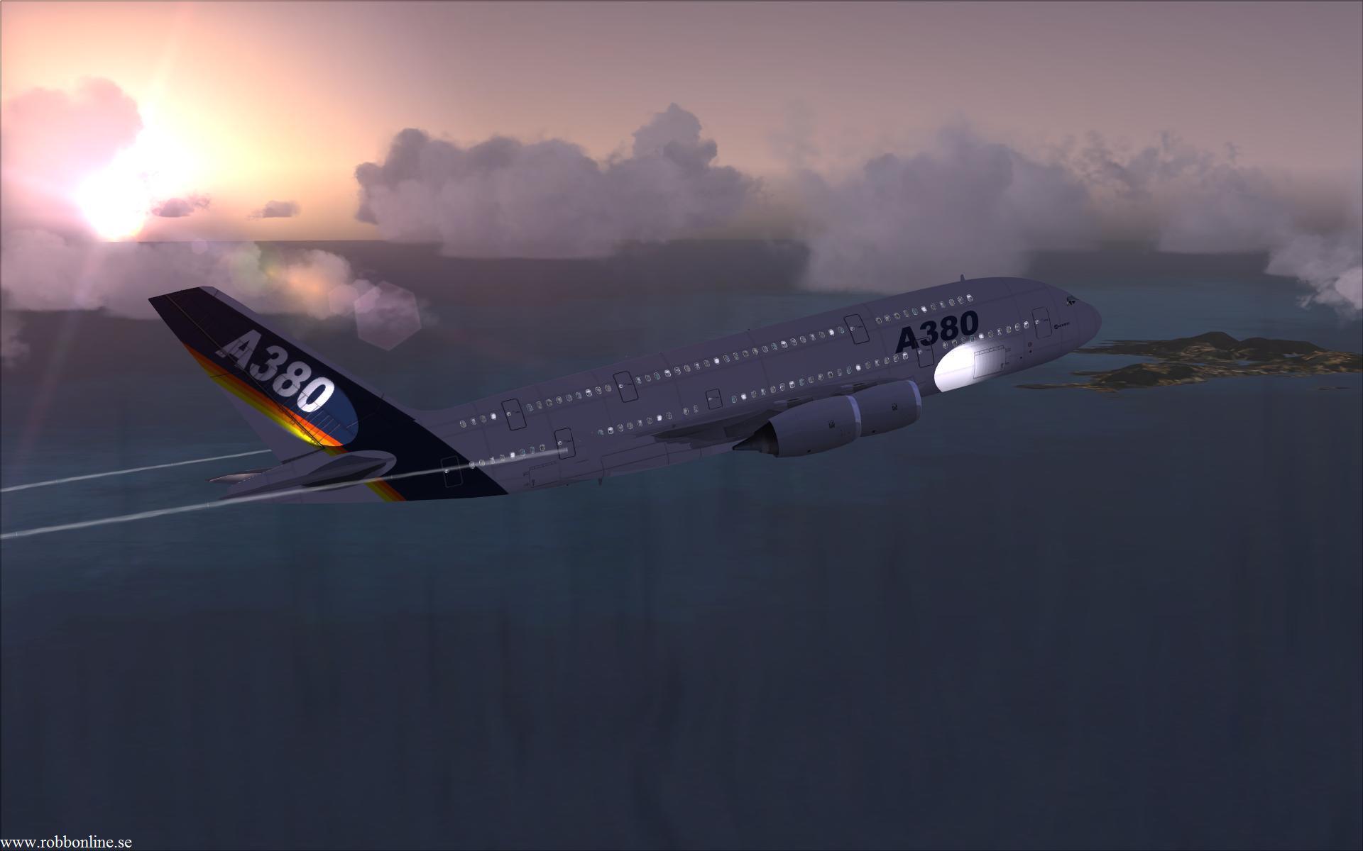 Аэробус А380  № 2361608 без смс