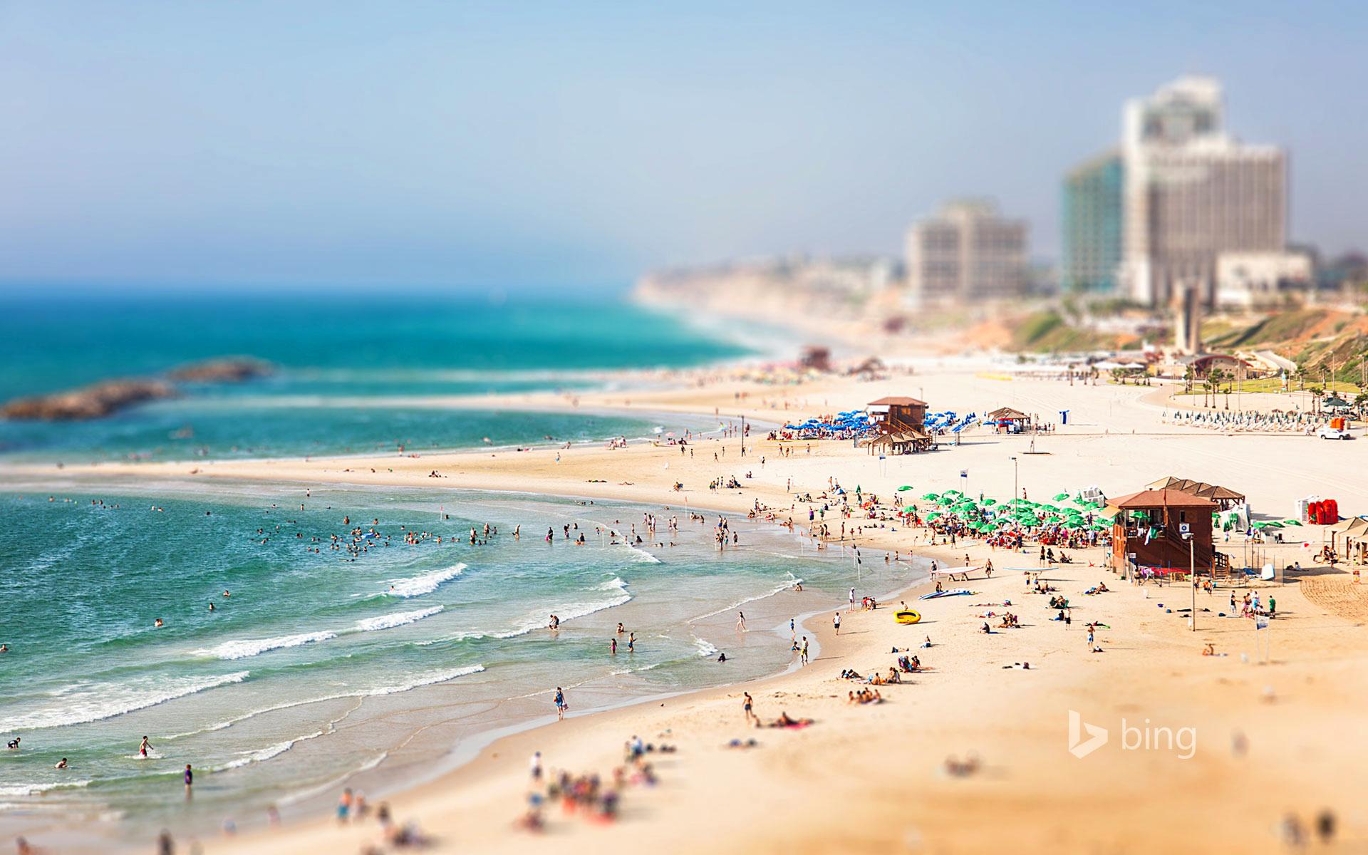обои для рабочего стола виды израиля № 601265 бесплатно