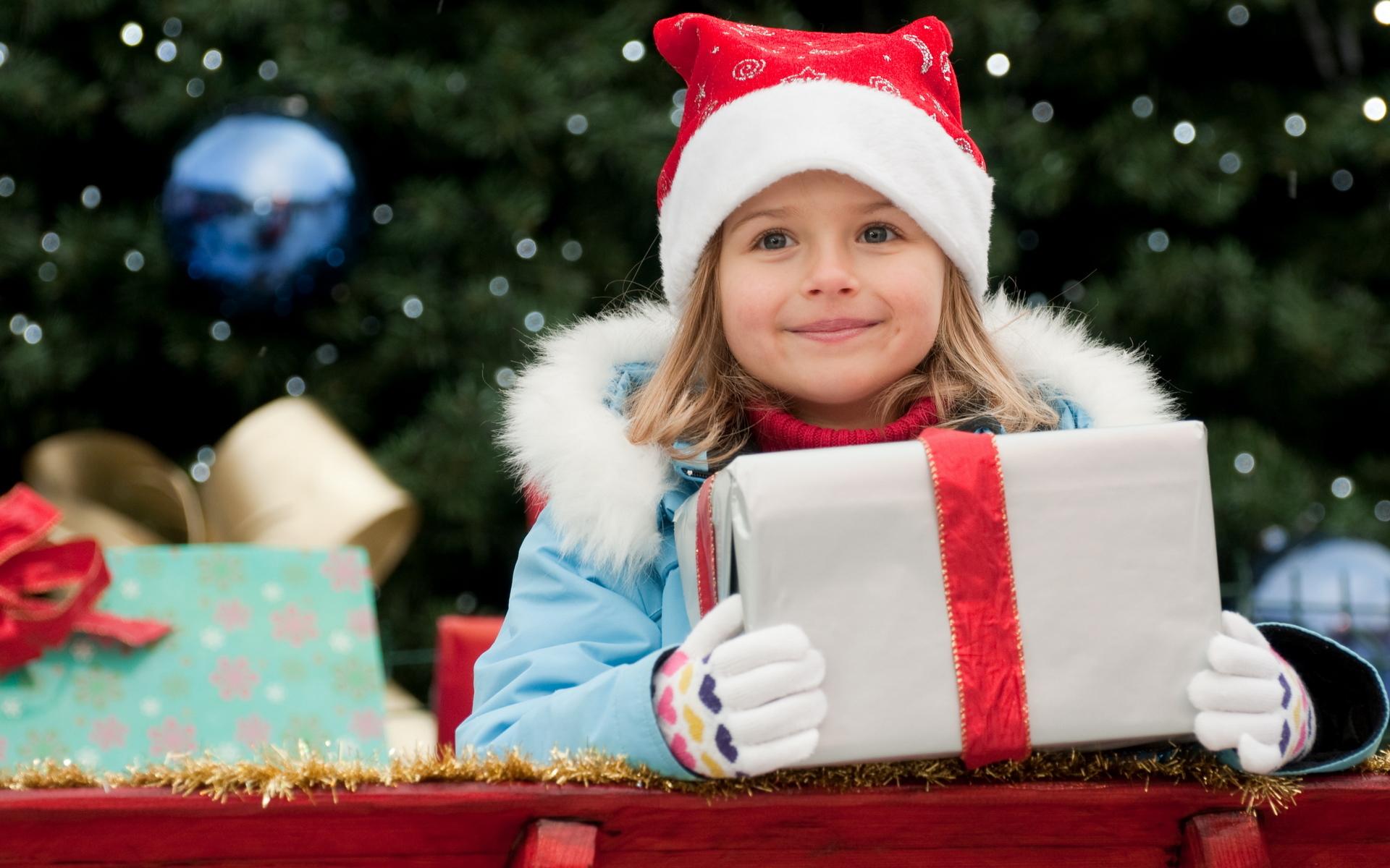 Подарок для девочки зима