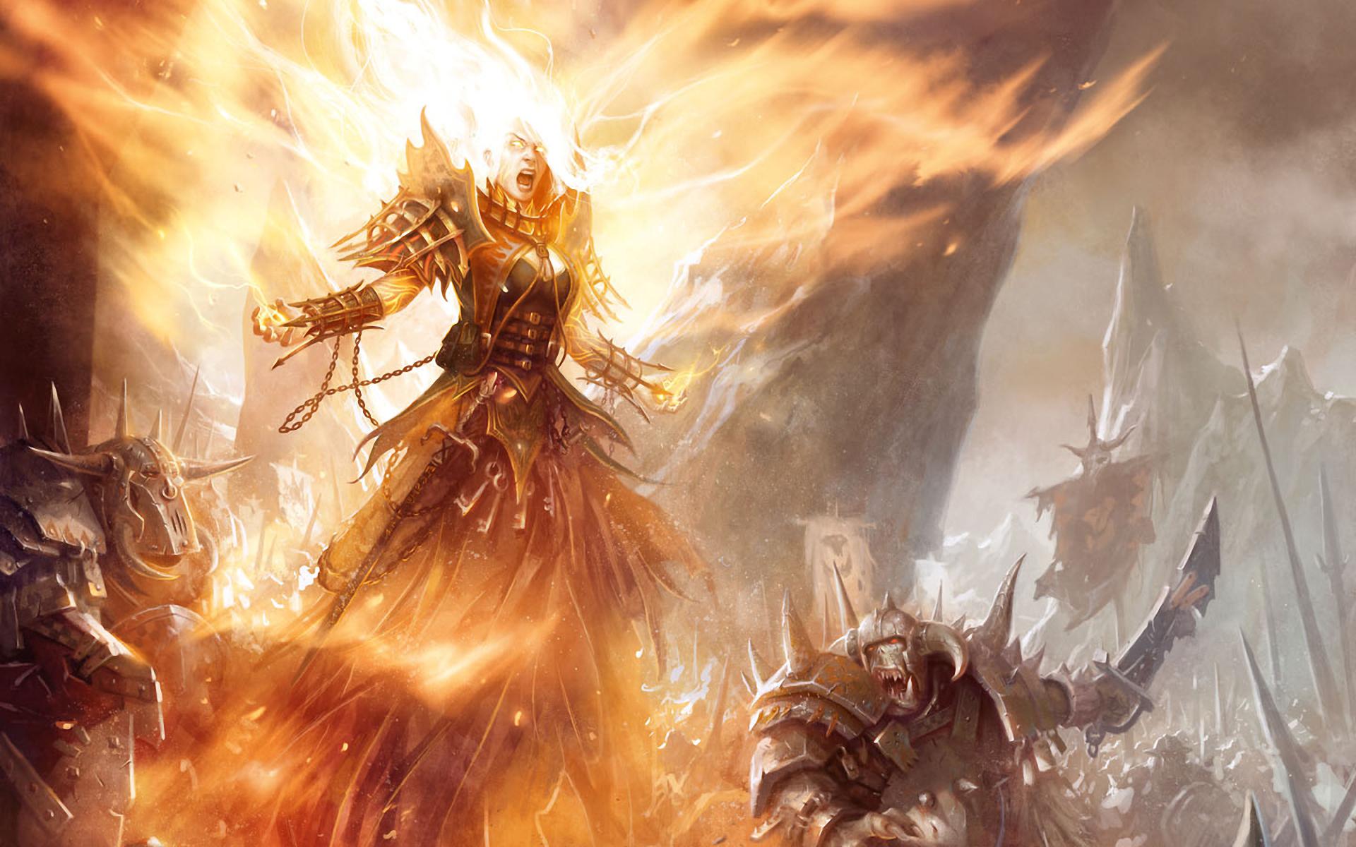 Орды хаоса рыцарь огня