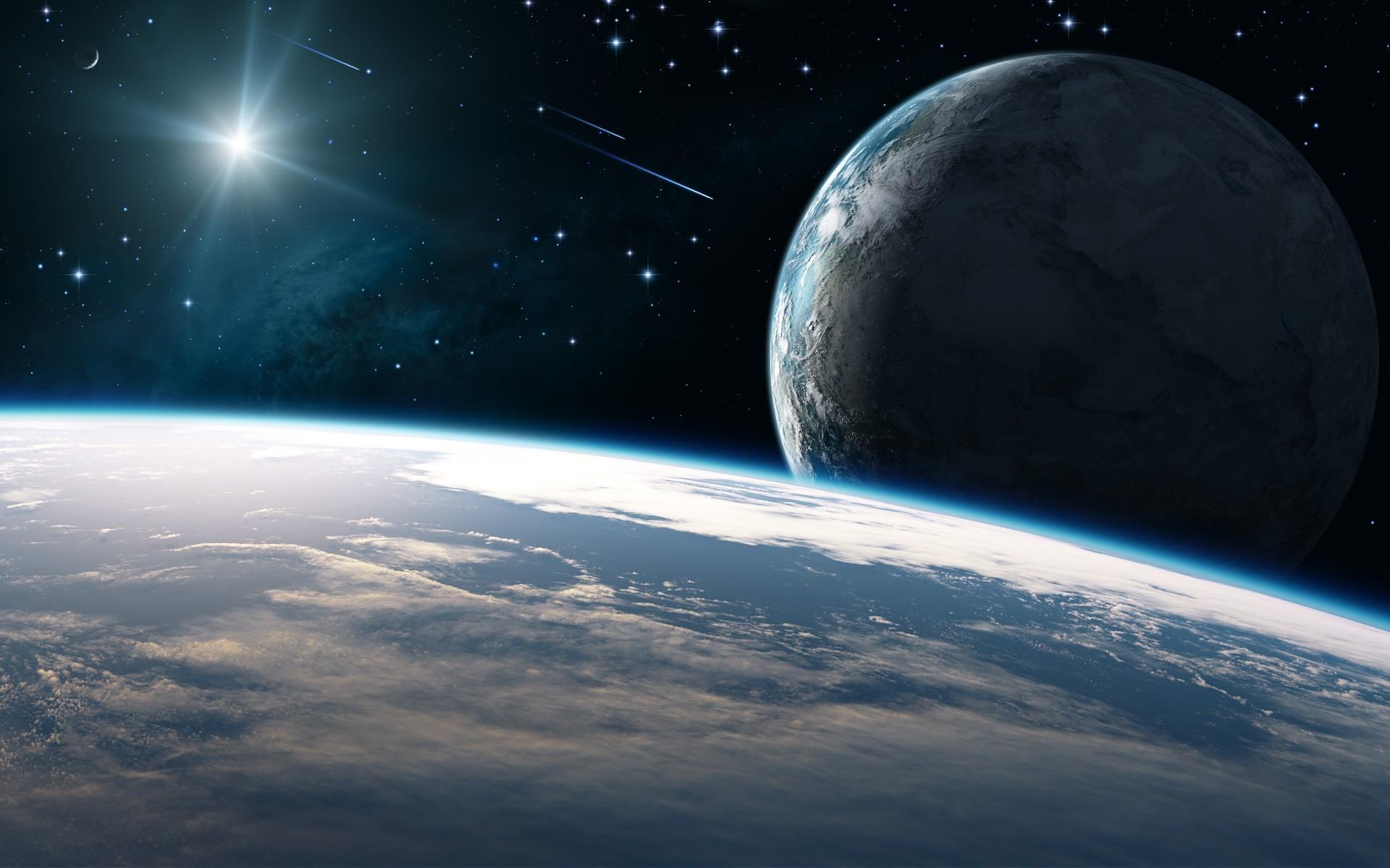 Обои Земля планета космос картинки на рабочий стол на тему Космос - скачать  № 3551586  скачать