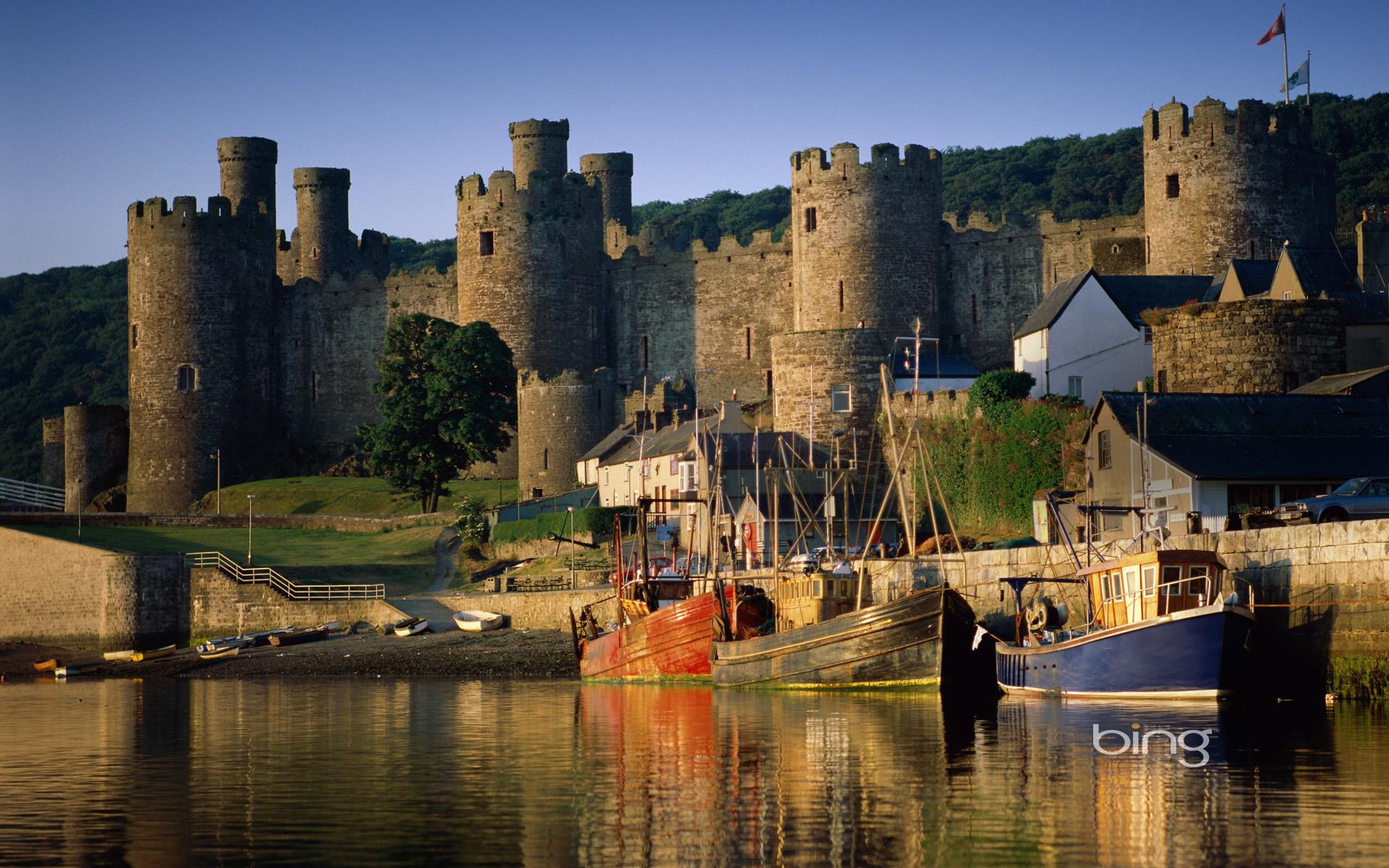 Картинки древних замок