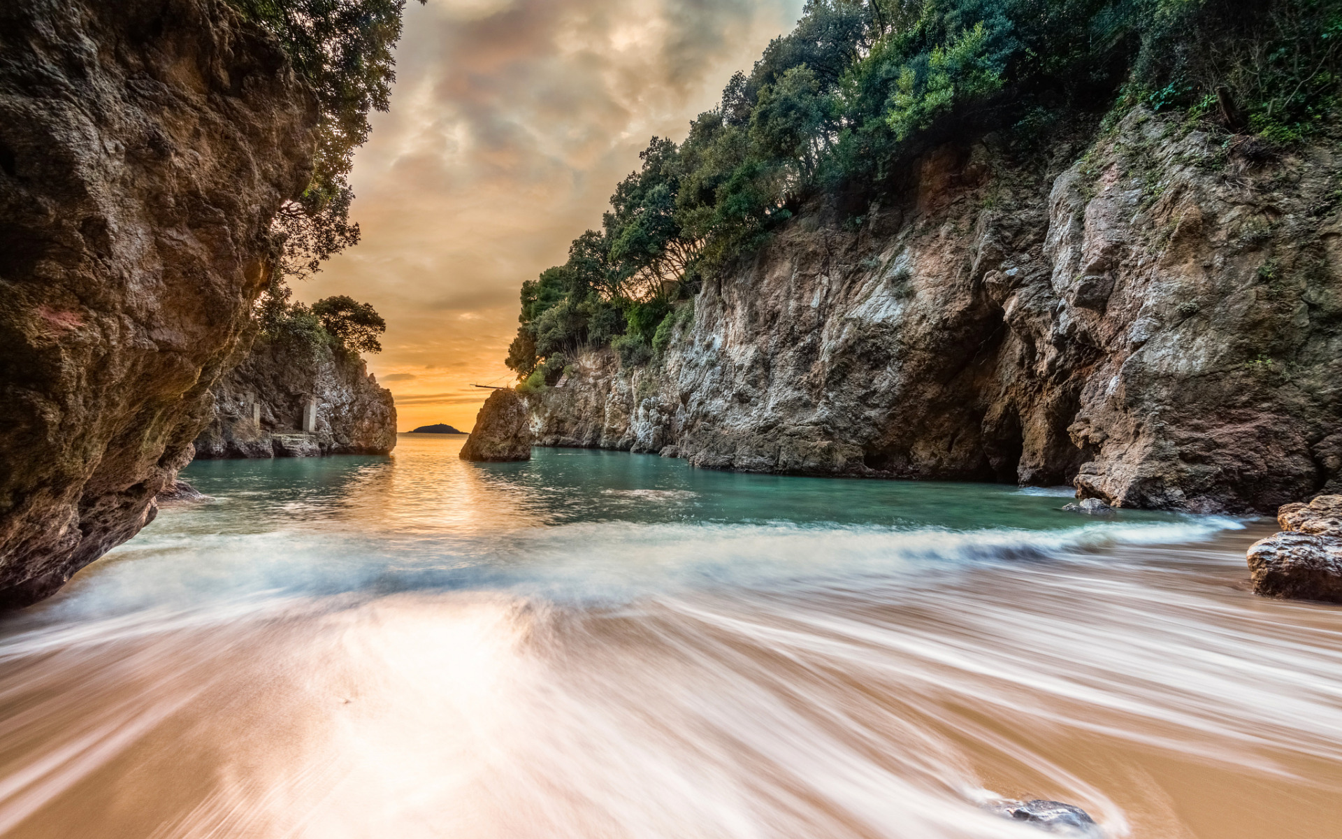 Для мамочки, картинки пляж и море италии на телефон