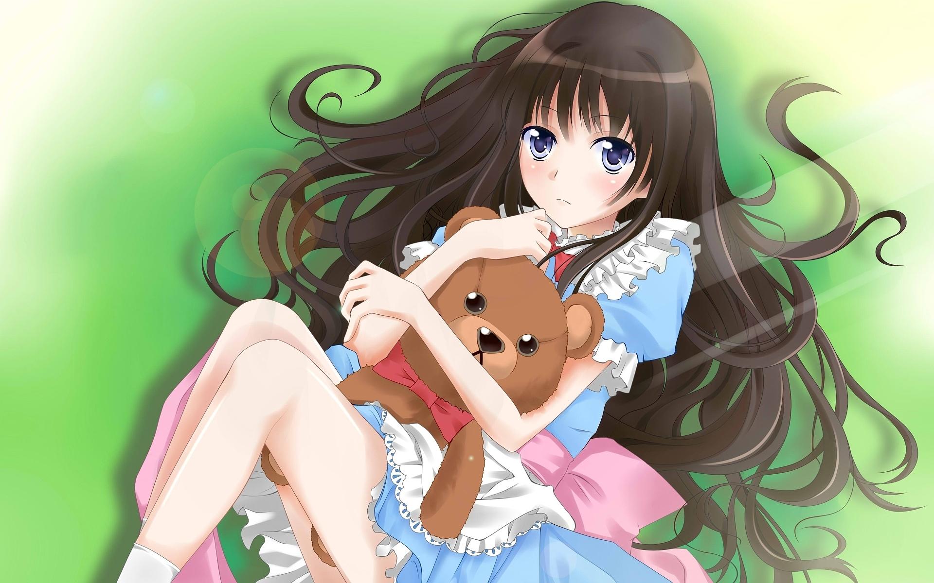 Картинки с аниме девочки
