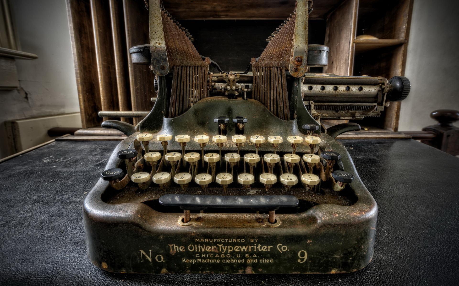 обои для рабочего стола печатная машинка № 1409199 бесплатно