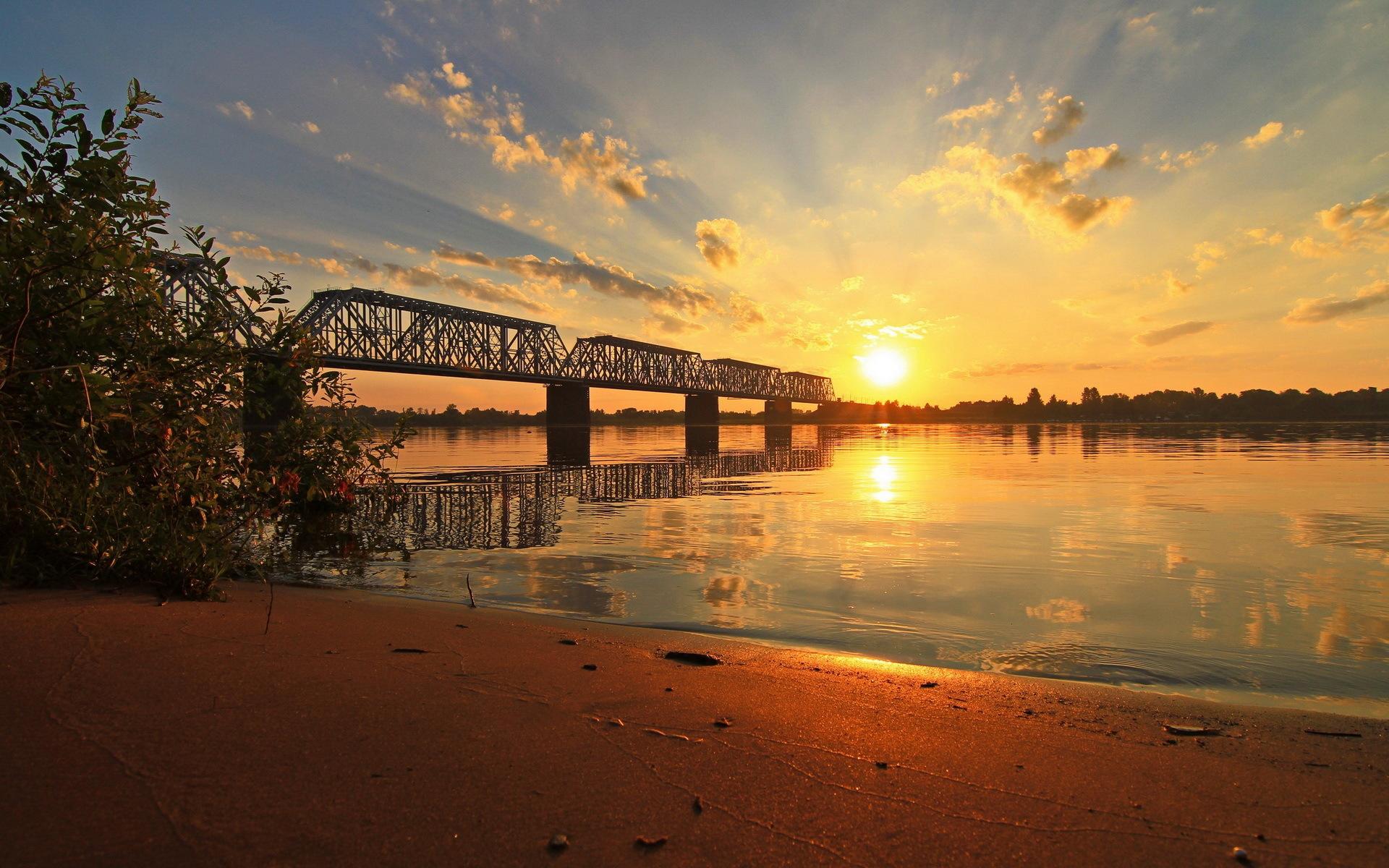 натяжные фотографировать рассвет с моста закружат вокруг хоровод
