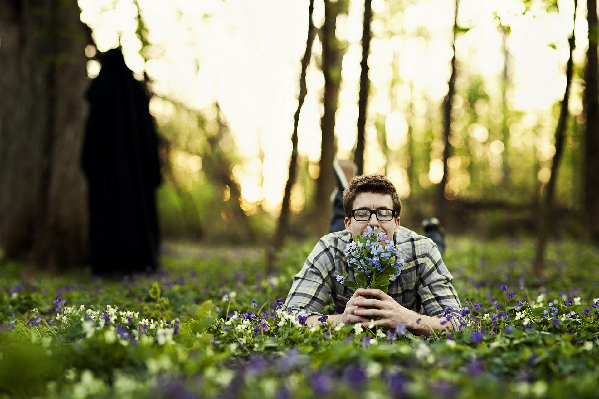 Вот и весна фото мужчины