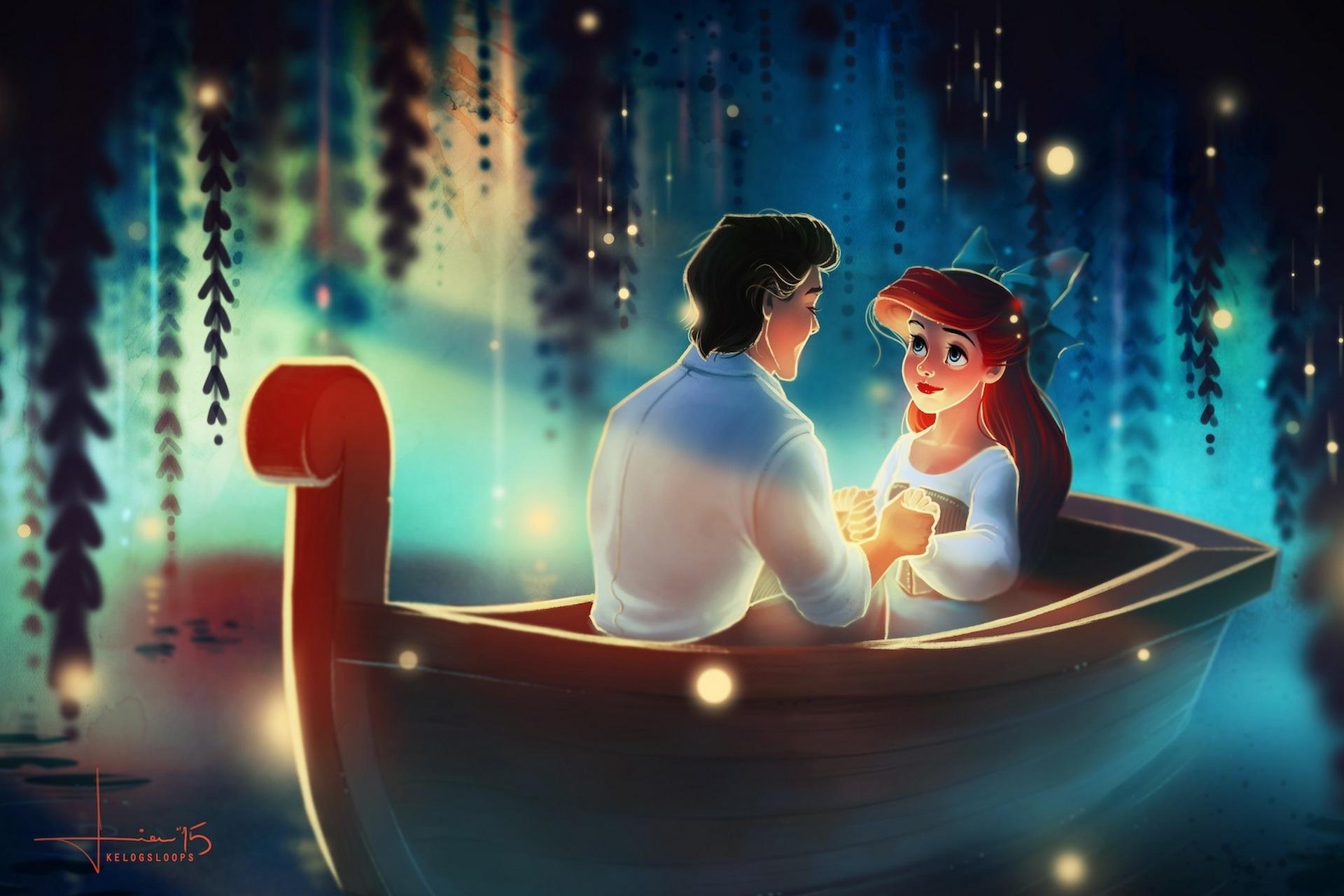картинки с русалками и принц