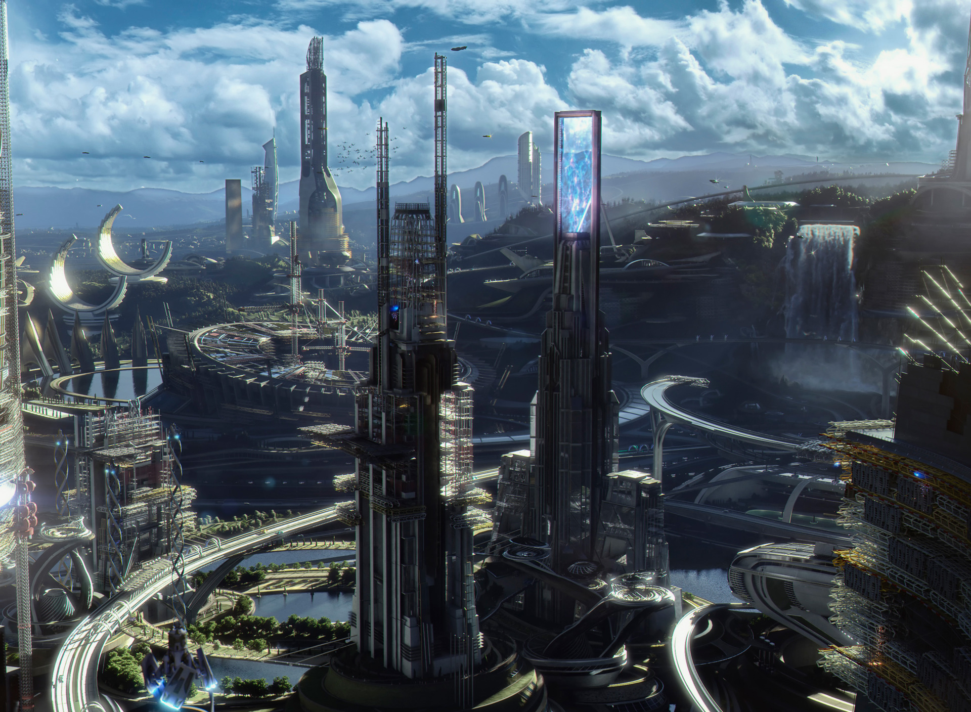 картинки про будущее мира завода